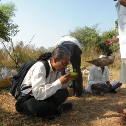 Ajith Photographed by Monika Singh on 9 Dec 2011 Gujarat India Forest Ceremony _250x250_scaled_cropp